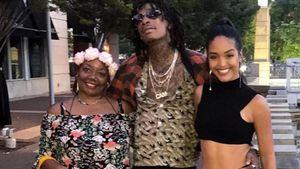 Megaselten: Wiz Khalifa postet süßes Pic mit Mama & Freundin