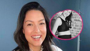 Im hautengen Sportdress: Rebecca Mir zeigt stolz Babybauch!