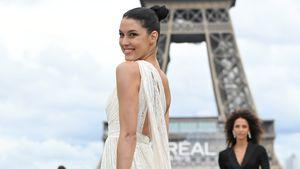 Nach Geburt: Rebecca Mir feiert in Paris Laufsteg-Comeback