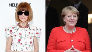Fashion-Guru Anna Wintour ist begeistert von Merkels Look
