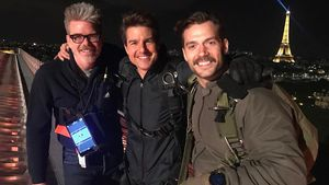 """Mission: Impossible 6"": Hier dreht Tom Cruise mit Superman!"
