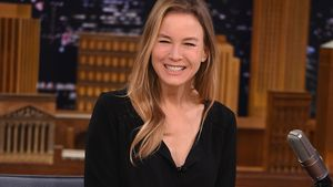 "Renée Zellweger in der ""Tonight Show"" in New York"