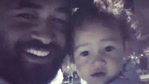 Reno Mahe mit Tochter Elsie