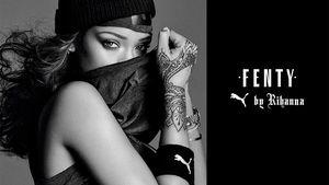 "Aufnahme der ""Fenty by Rihanna""-Kampagne"