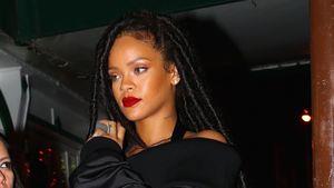 Rihanna verlässt im Oktober 2016 einen Nacht-Club in New York