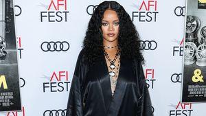 Heiß in Schwarz: Rihanna überrascht auf Red-Carpet-Event!