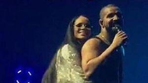 Rihanna und Drake in LA