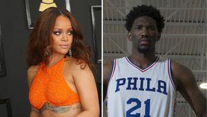 Rihanna und Joel Embiid