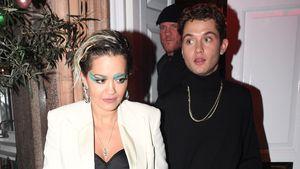 Set-Romanze? Rita Ora turtelt mit Jude Laws Sohn Rafferty