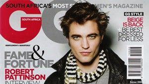 Heißes Shooting! Pattinson auf dem GQ-Cover