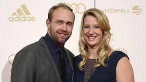 """Robert Harting und Julia Fischer beim """"Sportler des Jahres"""" in Baden-Baden (2014)"""