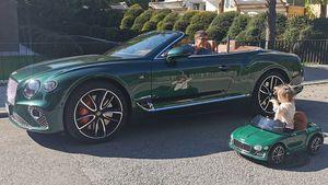 Wie süß: Robert Lewandowski und Tochter im Auto-Partnerlook