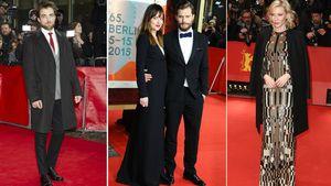 Dakota Johnson, Robert Pattinson, Jamie Dornan und Cate Blanchett