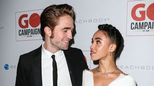 Glücksfotos! Robert Pattinson & FKA verliebt auf Red Carpet!