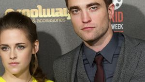 Robert Pattinson und Kristen Stewart bei der Twilight-Premiere in Spanien