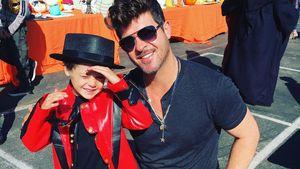 Robin Thicke und sein Sohn Julian