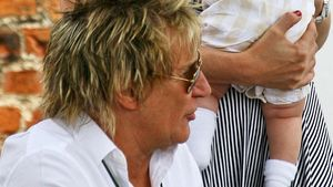 Süß! Das ist Rod Stewarts Sohn Aiden
