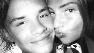 Süß! Romeo Beckham verzehrt sich im Netz nach Freundin Mia