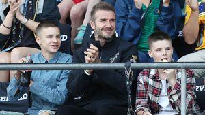 Stylischer Papa-Söhne-Ausflug: Die Beckham-Boys unterwegs