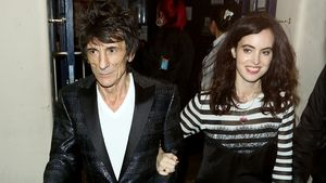 Ronnie Wood und Sally Humphreys