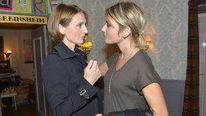 Rosa (Joana Schümer) und Anni (Linda Marlen Runge) bei GZSZ