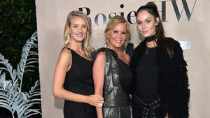 Rosie Huntington-Whiteley, Paige Adams-Geller und Nicole Trunfio