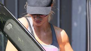 Rosie Huntington-Whiteley beim Verlassen ihres Fitnessstudios