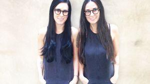 Krass! Demi Moore & Rumer Willis sehen aus wie Zwillinge
