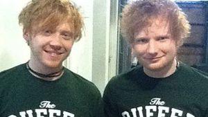 Ed Sheeran und Rupert Grint