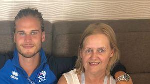 Rúrik Gíslason ehrt seine tote Mutter zu ihrem Geburtstag