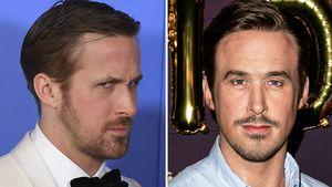 Ryan Gosling und seine Wachsfigur in Berlin