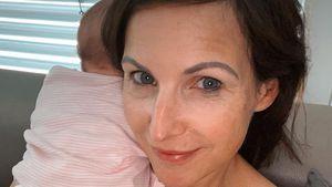 Fast geweint: Neu-Mama Sabrina Mockenhaupt ist völlig fertig