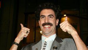 Isla Fisher findet Sacha Baron Cohen auch als Borat heiß!