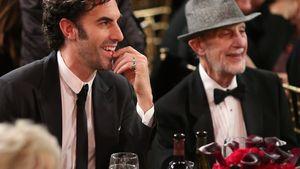 Sacha Baron Cohen und sein Vater Gerald 2013