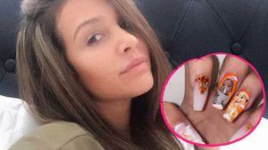 Safiyya Vorajee trägt Bild ihrer Tochter (†) auf den Nägeln