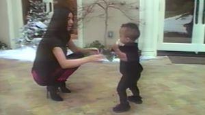 Kim Kardashian mit Saint