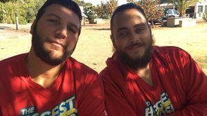 """The Biggest Loser""-Sieger Saki: Bro-Romance mit Christos!"