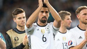 Sami Khedira beim EM-Spiel Deutschland gegen Ukrainie