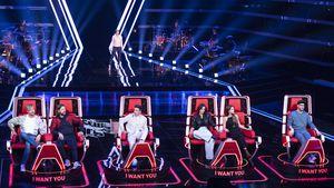 """""""The Voice""""-Coaches battlen sich mit Songs um Kandidatin"""