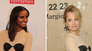 Wem steht der Nackt-Look besser: Sara oder Mena?