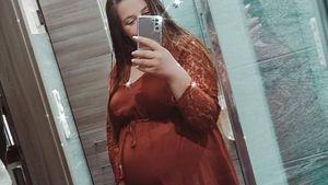 Babybauch-Update: Sarafina Wollny ist jetzt im achten Monat!