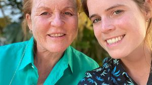 So süß gratuliert Prinzessin Eugenie Mama Sarah Ferguson