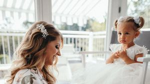 Heimlicher Star: Mia Rose bezauberte bei Harrison-Hochzeit!