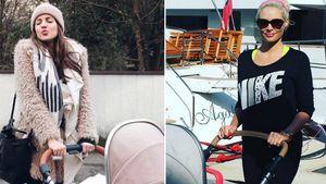 Klau von der Katze? Sarah Nowak kopiert Danis Kinderwagen!