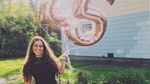 Ein Jahr nach der Trennung: Sarah strahlt an ihrem 25. B-Day