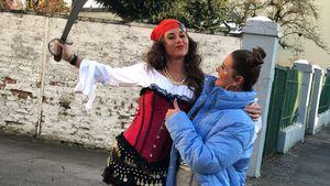An Weiberfastnacht: Sarah Lombardi feiert als sexy Piratin!