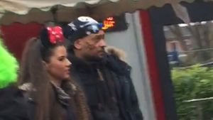 Sarah Lombardi und Michal T. an Karneval