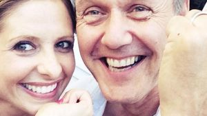 Sarah Michelle Gellar und Anthony Head