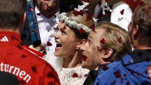 Sarah & Samuel Koch: Die ersten Worte nach der Hochzeit