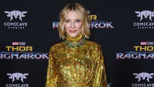 Top oder Flop? Cate Blanchett glitzert im Lametta-Outfit